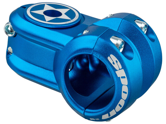 Spank Spoon 2.0 Vorbau Ø 31,8 mm blau